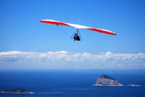 flying free as a bird in Rio De Janeiro